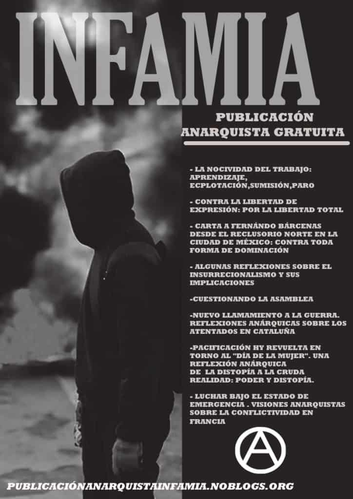 Infamia - Rivista anarchica da Madrid