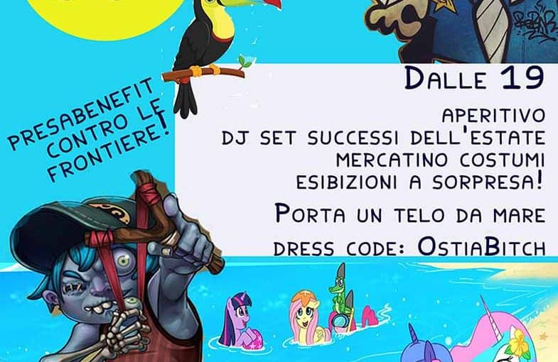 Roma - Come se non ci fosse un Daspo. Ciaone al Sole party